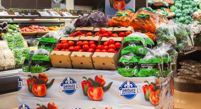IGA : Les Québécois ont adopté les légumes moches