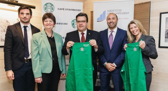 Starbucks lutte contre le chômage des jeunes montréalais