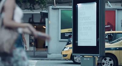 Brésil : Un panneau publicitaire pour combattre le virus Zika
