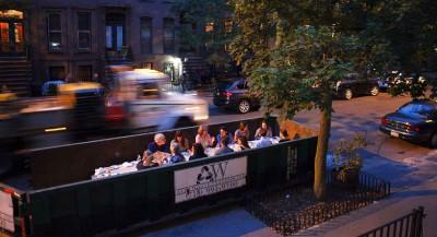 Des restaurants éphémères mettent en vedette les déchets alimentaires